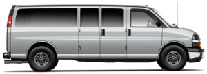 12 passenger van rental