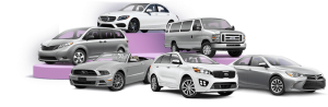 various sizes of car rentals