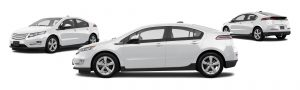 chevrolet volt hybrid rental car